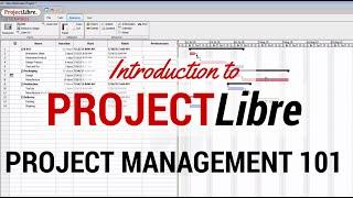 ProjectLibre ile Proje Yönetimi ProjectLibre Temelleri - Hızlı Başlangıç Öğren