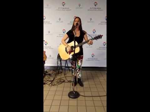 Samantha Sears Live @ Pittsburgh International Airport