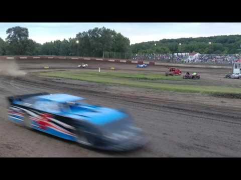 Peoria Speedway 8-5-17 sblm feature Matt Murphy