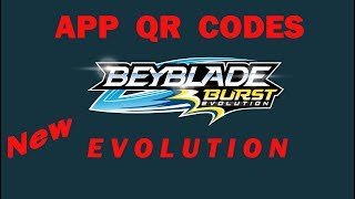 NEW App QR Codes BEYBLADE BURST EVOLUTION БЕЙБЛЭЙД БЁРС ЭВОЛЮШН КОДЫ СКАНИРОВАТЬ