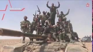 Усиленный Т-72 в сирийской пустыне: кадры наступления на боевиков ИГИЛ