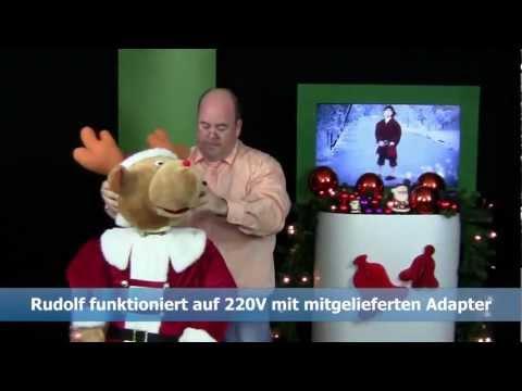 Produkt-Video Rudolf das Karaoke Rentier mit Onlineshop-Moderator Rene Kogelman (85831)