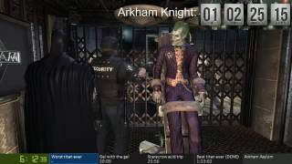 Arkham Asylum Easy Any% 1:22:43