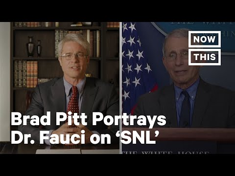 Watch Brad Pitt Portray Dr. Anthony Fauci on 'SNL' | NowThis