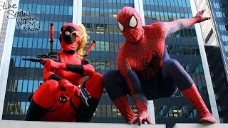 SPIDER-MAN meets LADY DEADPOOL...
