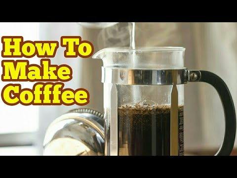 How To Use A Cafetiere French Press And Make A Perfect Coffee At Home