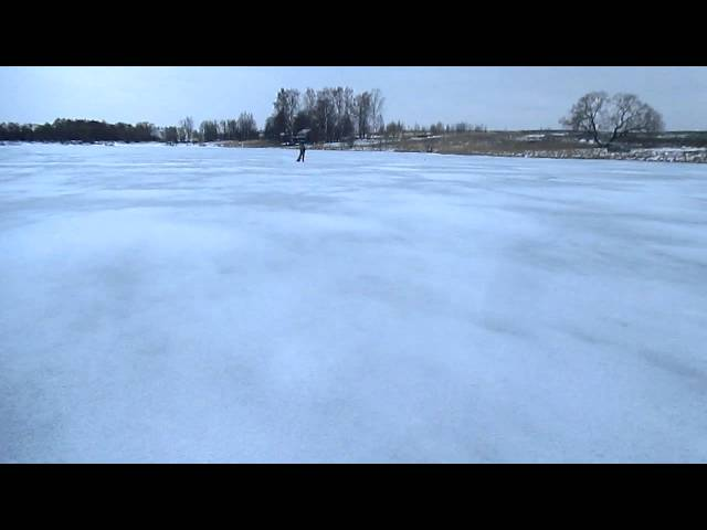 Весенний лед..тихий и коварный.
