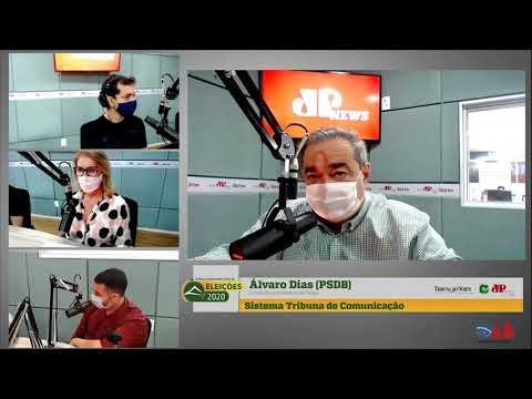 Assista entrevista com o candidato à reeleição para a Prefeitura do Natal, Álvaro Dias (PSDB)