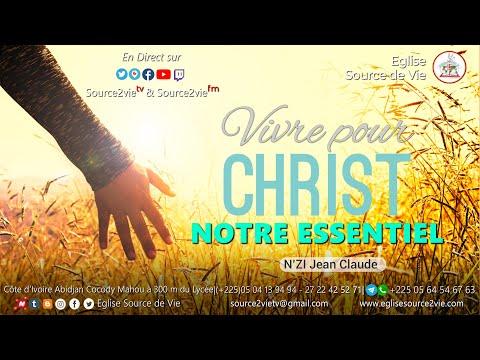 N'ZI Jean-Claude | Vivre pour Christ, notre essentiel