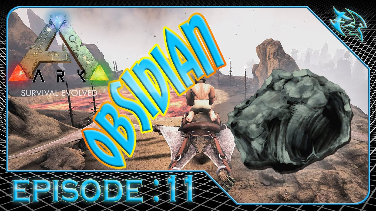 how to get obsidian in ark