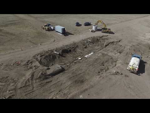 Homestake Pipeline Leak Repairs Spring 2018