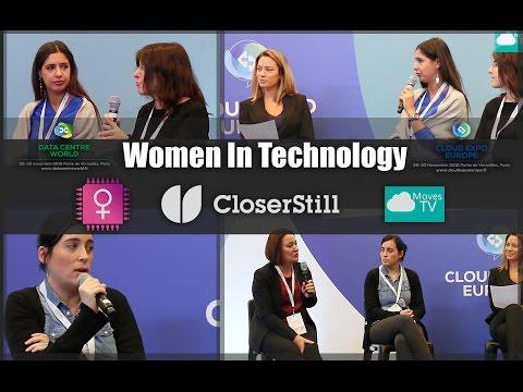 Women in Technology – Cloud Expo Paris 2016