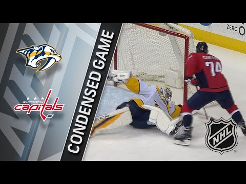 04/05/18 Condensed Game: Predators @ Capitals