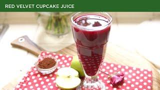 Red velvet cupcake juice