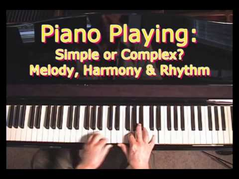 - Melody, Rhythm & Harmony - The 3 Basic Elements Of Music -