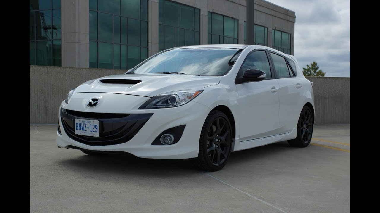 Mazda Speed 3 >> 2013 Mazdaspeed3 Review Youtube