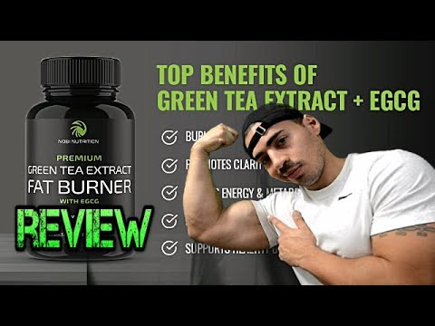 Green Tea Extract FAT BURNER by Nobi Nutrition Review
