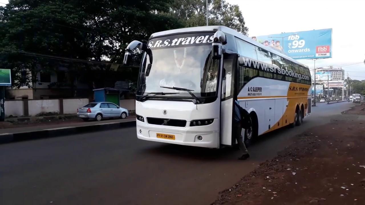 Srs Volvo Multiaxle Sleeper On Its Way To Mumbai Youtube
