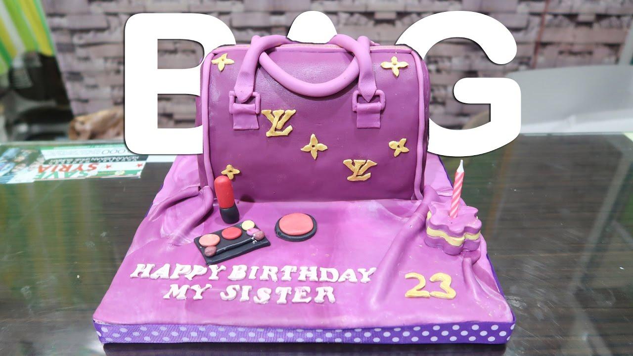 Bag Cake Tutorial YouTube