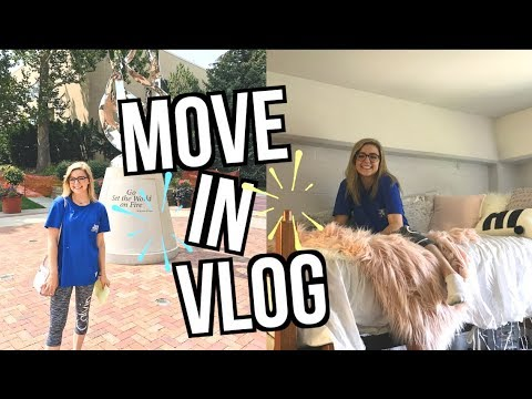 COLLEGE MOVE IN VLOG 2017 | Creighton University