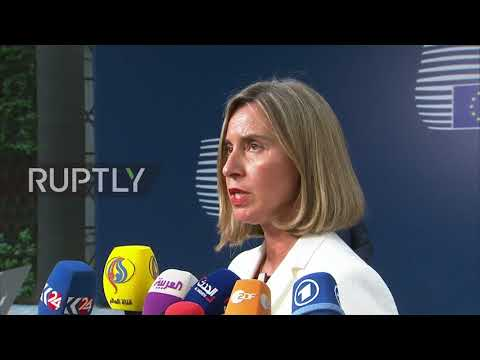 Belgium: EU Foreign Ministers show united front ahead of JCPOA meeting
