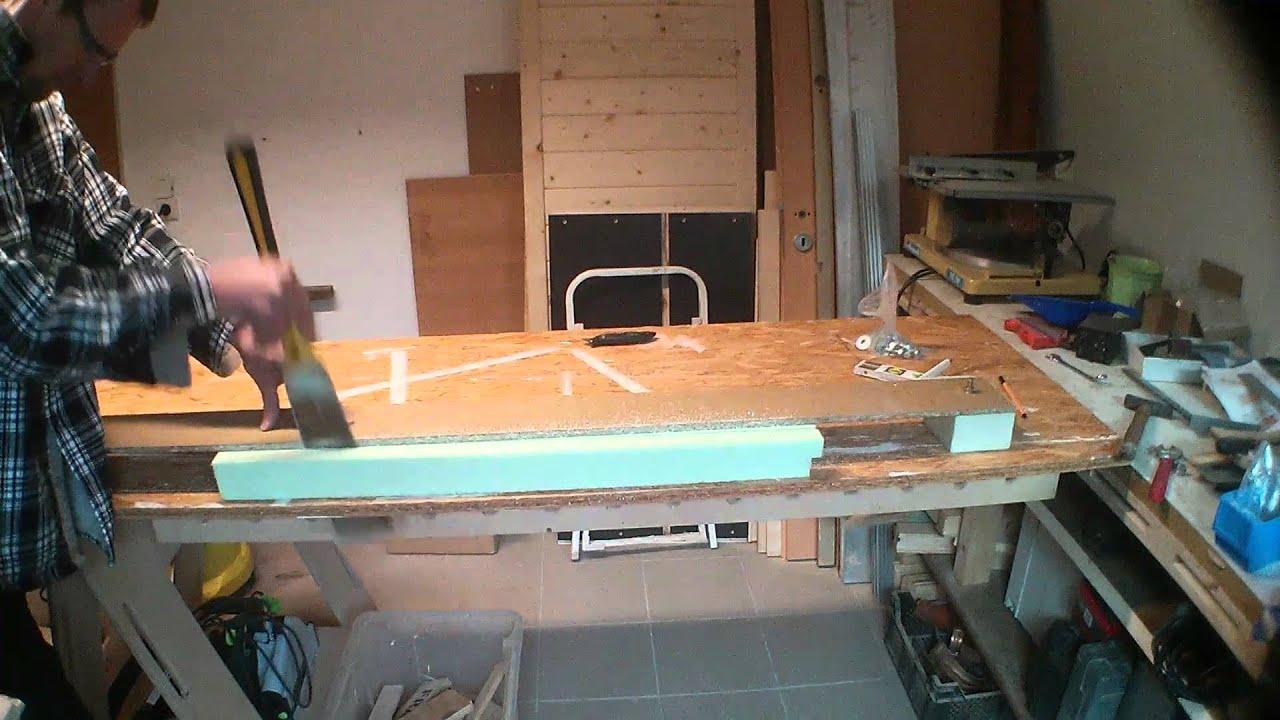 styrodur oder styropor schneiden ganz einfach. Black Bedroom Furniture Sets. Home Design Ideas