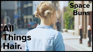 How to do braided space buns | All Things Hair