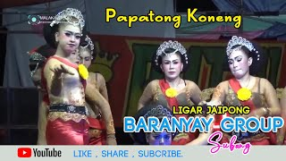 Gambar cover Papatong koneng - percuma. Ligar Jaipong BARANYAY GROUP Subang.