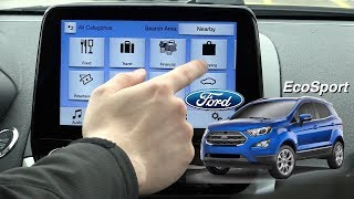 🔵 Ford Sync Features on 2018 Ford EcoSport - Ford's Newest American Sport Compact SUV - REVIEW