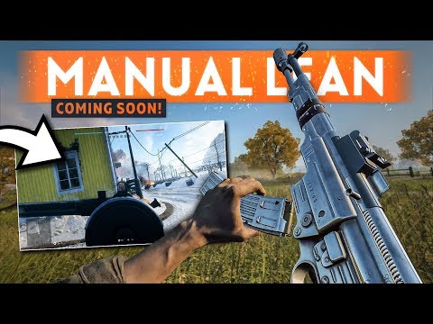 MANUAL LEANING Is Coming To Battlefield 5 👌