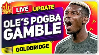 Solskjaer's Pogba Transfer Gamble! Man Utd Transfer News