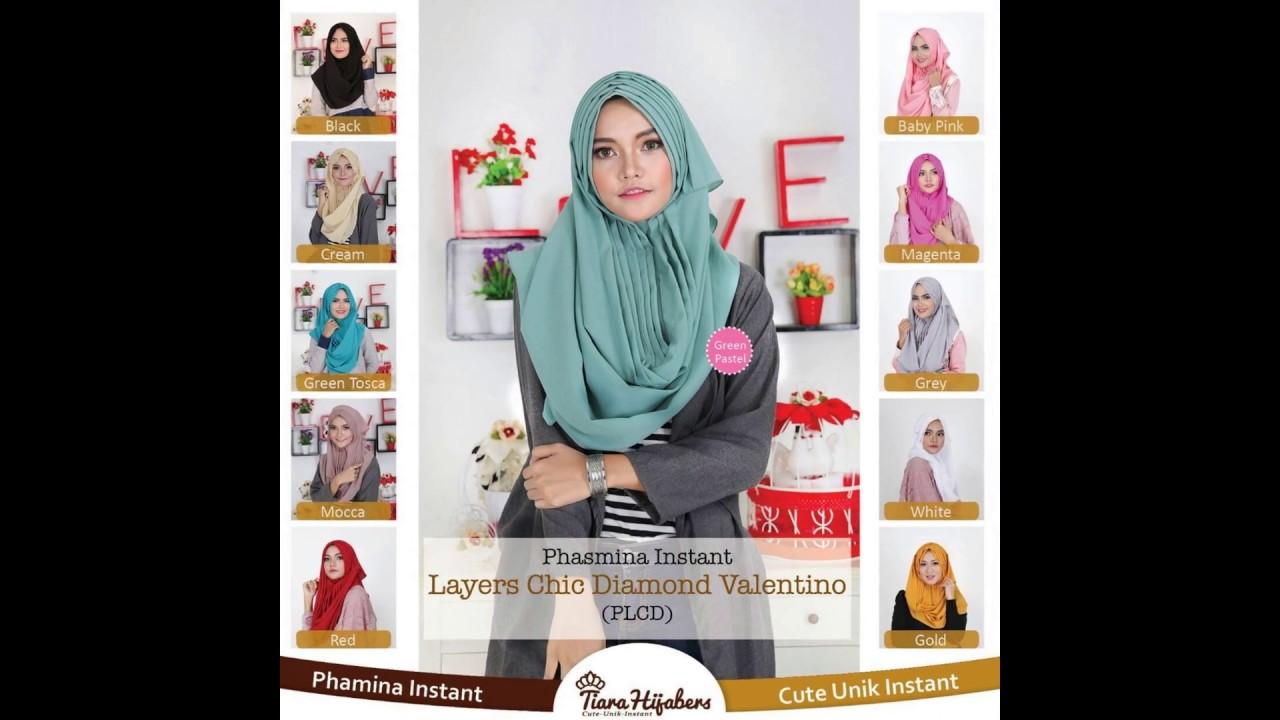 Jual Hijab Instan Bandung Tiara Hijabers 087763275687 Youtube
