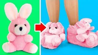 37 DZIWNE, ALE UROCZE ZABAWKI|| Recykling starych zabawek i miniaturowe lalki Barbie
