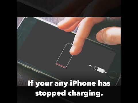 How to do cleanings for iPhone charging port with toothbrush & metal pin, if it stops charging.