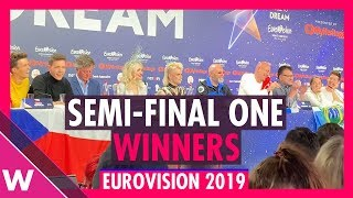 Eurovision 2019: Semi-Final 1 winners / qualifiers press conference