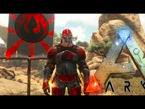 Ark: Scorched Earth - AVATAR IN ARK! BEND WATER, AIR, THROW BOULDERS, MORE (Ark Modded Gameplay)