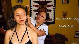 MARTHA ♥ PANGOL, ASMR RELAXING ECUADORIAN FULL BODY MASSAGE TO SLEEP,