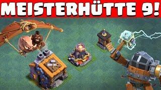 MEISTERHÜTTE 9 IST DA! ☆ Clash of Clans UPDATE! ☆ CoC