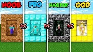 Minecraft Battle NOOB vs. PRO vs. HACKER vs. GOD: PORTAL DIMENSION in Minecraft!