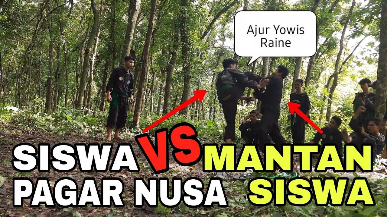 Kang Arpans Diajak Sparing🔥  SISWA VS MANTAN SISWA PAGAR NUSA .. Auto Ramee ‼️