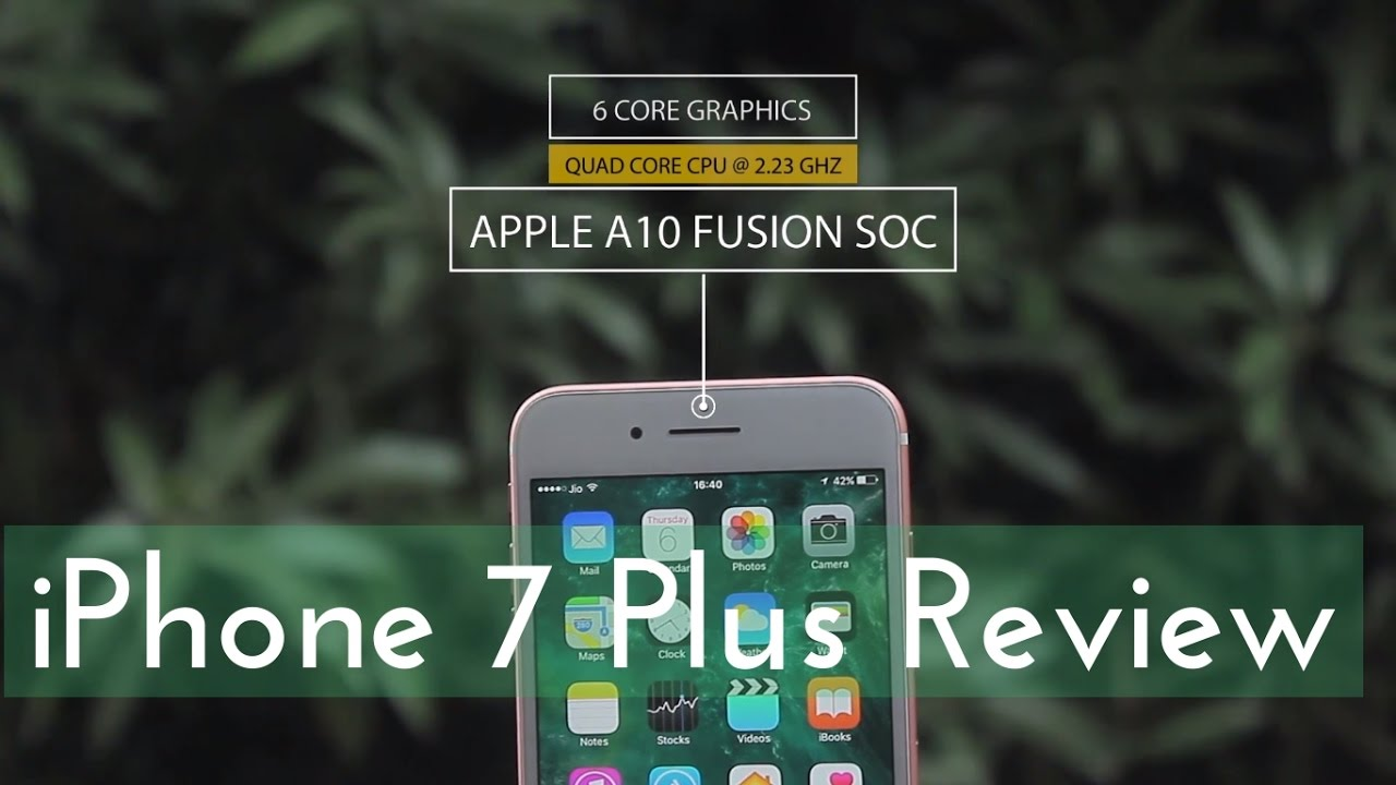 iPhone 7 Plus Review - 4K DSLR Camera Effects