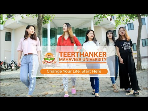 Teerthanker Mahaveer University,  TMU, India's top and best private university, Uttar Pradesh