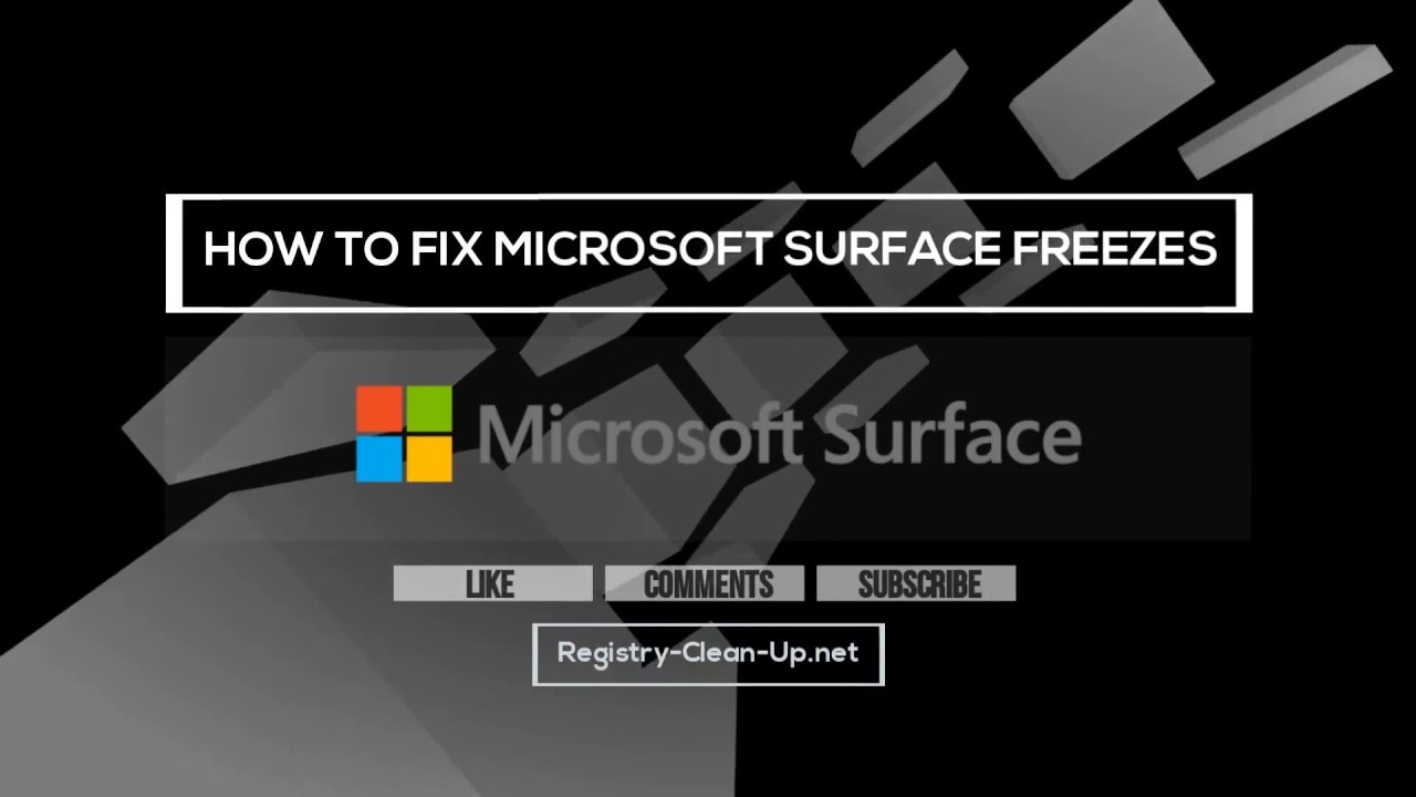 How To Fix Microsoft Surface Freezes