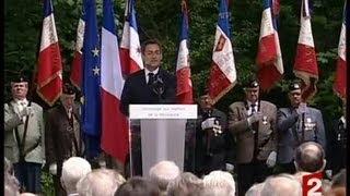 [Hommage aux résitants fusillés au Bois de Boulogne]