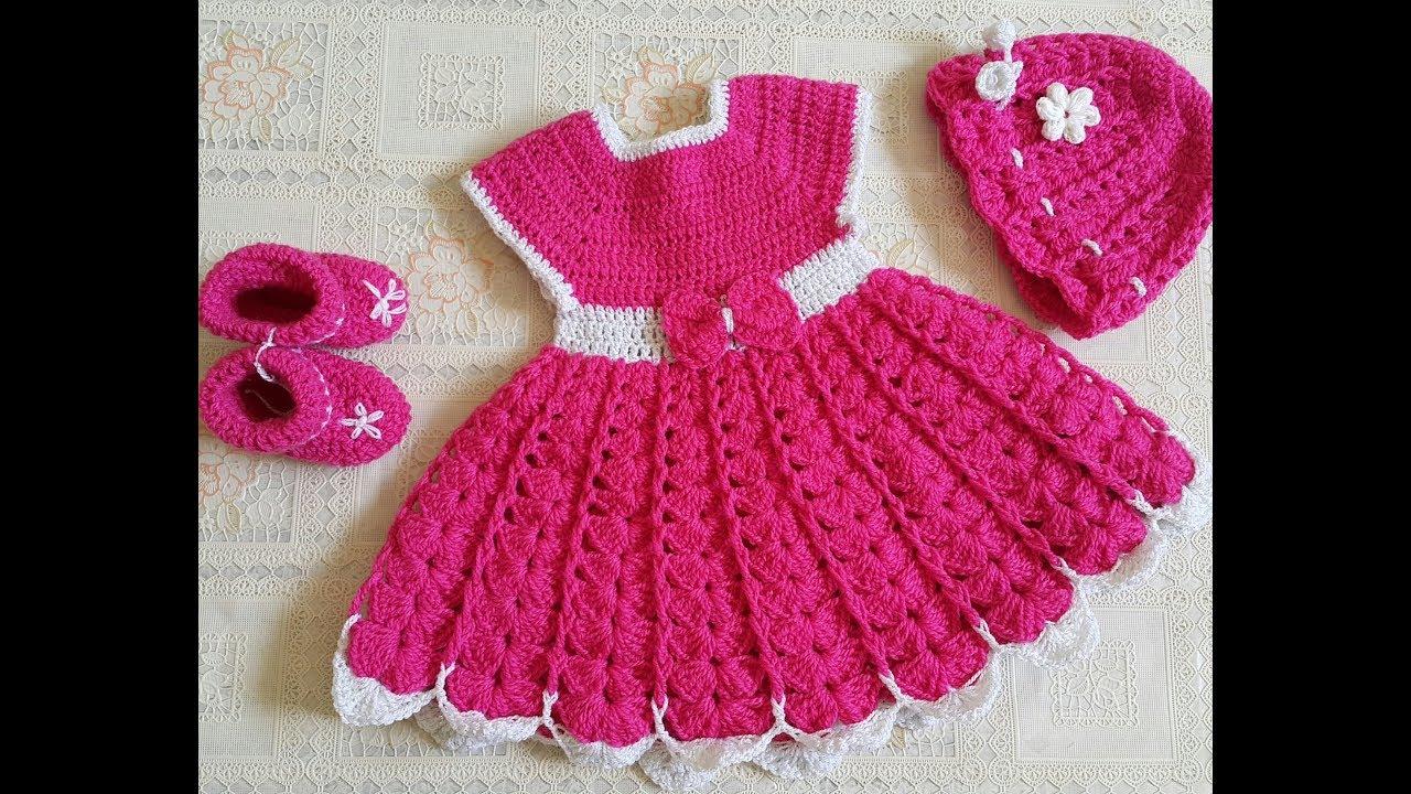 2f31624e84947 شرح كيفية عمل فستان طفلة من سنة الي سنة ونص - YouTube