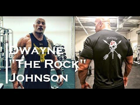 Dwayne The Rock Johnson Aesthetic Bodybuilding And Fitness Motivation