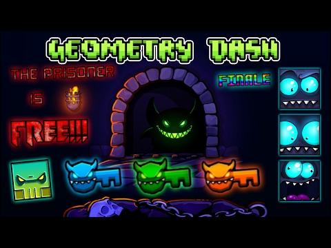 Geometry Dash 2.1 Quest 4/4: The Prisoner Is FREE! (FINALE) (Eng FanDub)