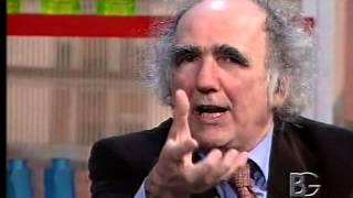 """2005 ott 13 – Bergamo – BergamoTV – Vittorino Andreoli presenta """"Follia e Santità"""