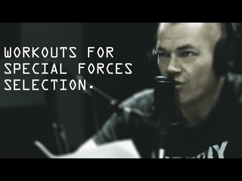 Workouts for Special Forces Selection Jocko Willink