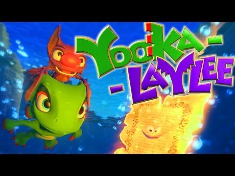 Yooka-Laylee Review - TheCartoonGamer